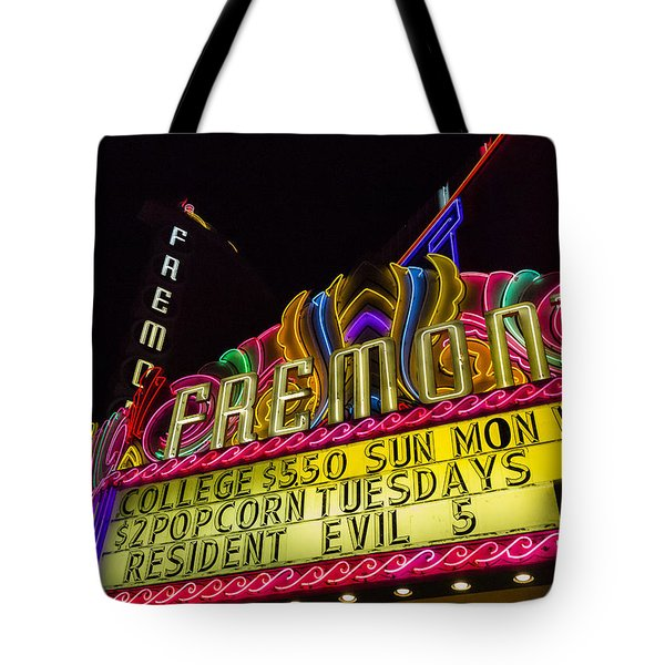 The Fremont Tote Bag by Caitlyn  Grasso