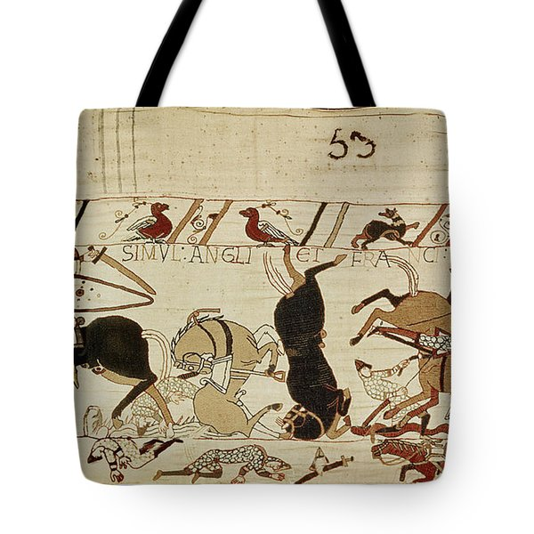 The Bayeux Tapestry Tote Bag by French School