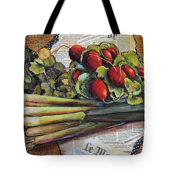 The French Cook Tote Bag by JAXINE Cummins