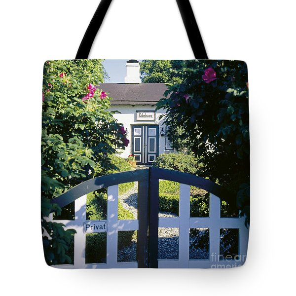 The Front Garden Tote Bag by Heiko Koehrer-Wagner