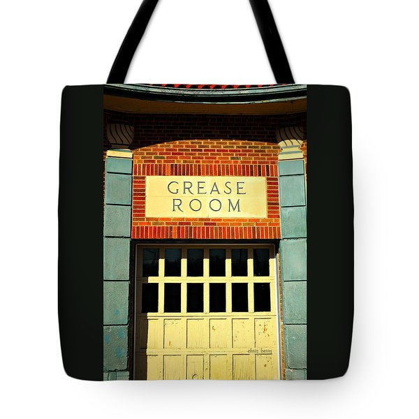The Garage Tote Bag by Chris Berry