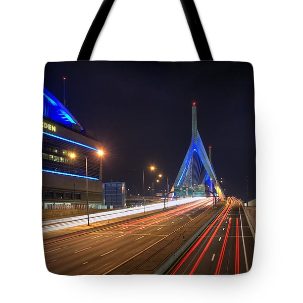 The Garden and the Zakim Tote Bag by Joann Vitali