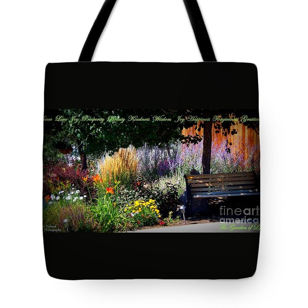 The Garden Of Life Tote Bag by Bobbee Rickard