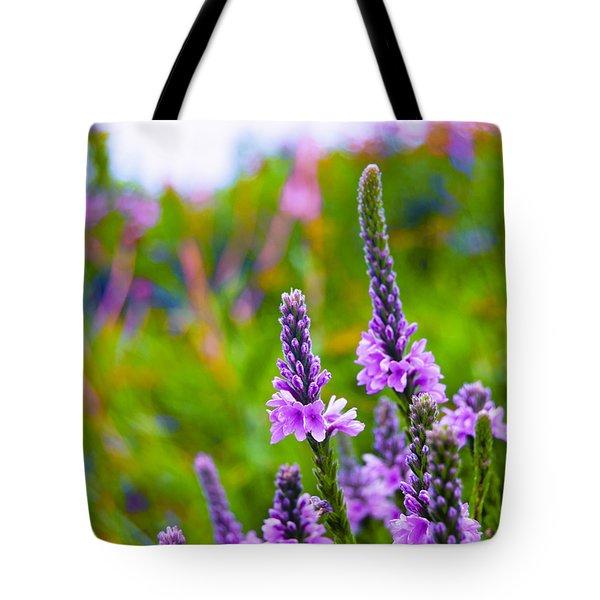 The Garden Palette Tote Bag by Christi Kraft