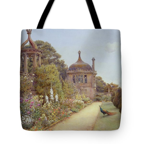 The Gardens At Montacute In Somerset Tote Bag by Ernest Arthur Rowe