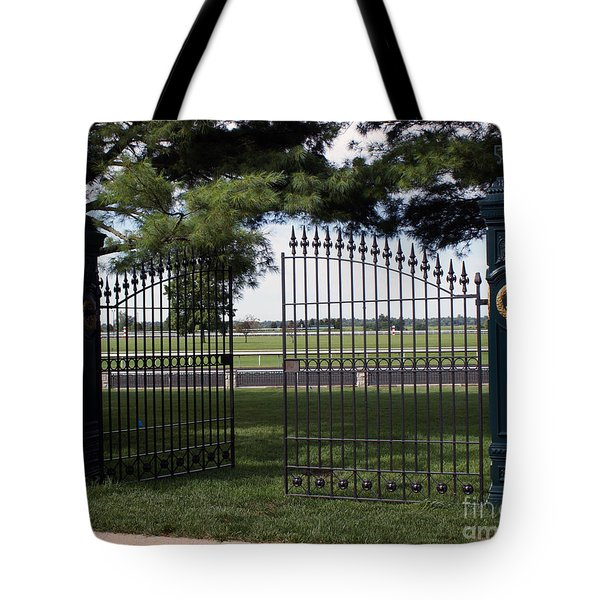 The Gate Tote Bag by Roger Potts
