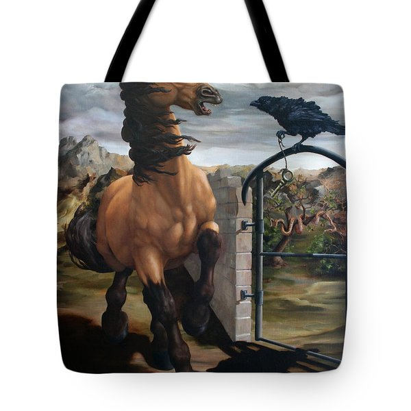The Gatekeeper Tote Bag by Lisa Phillips Owens
