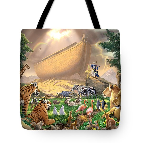 The Gathering Tote Bag by Chris Heitt