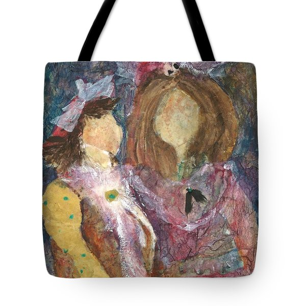 the Girls Tote Bag by Sherry Harradence