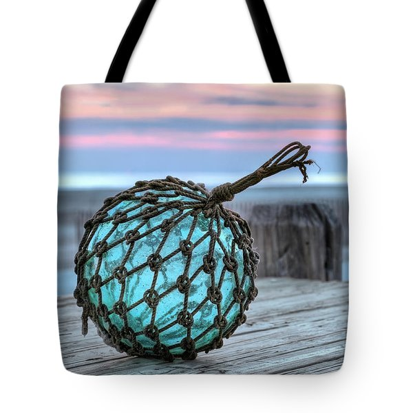 The Glass Fishing Float Tote Bag by JC Findley