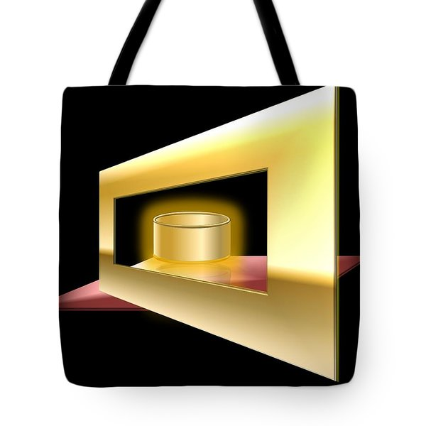 The Golden Can Tote Bag by Cyril Maza