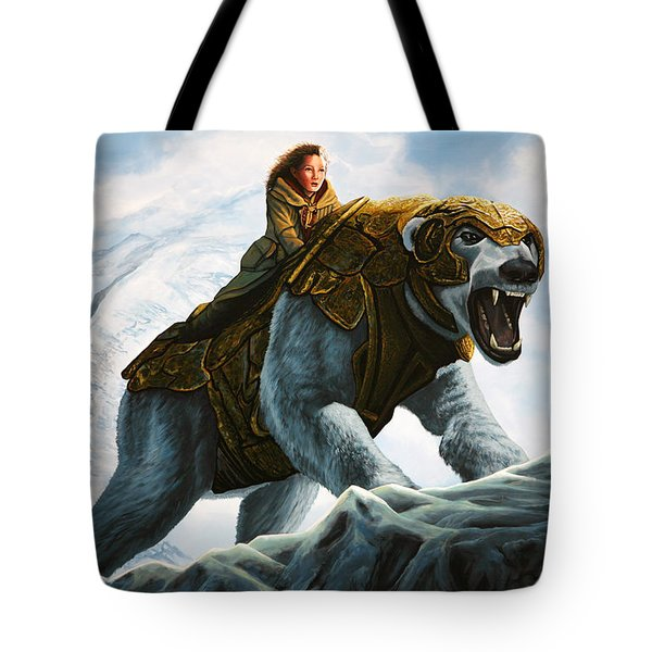 The Golden Compass  Tote Bag by Paul Meijering