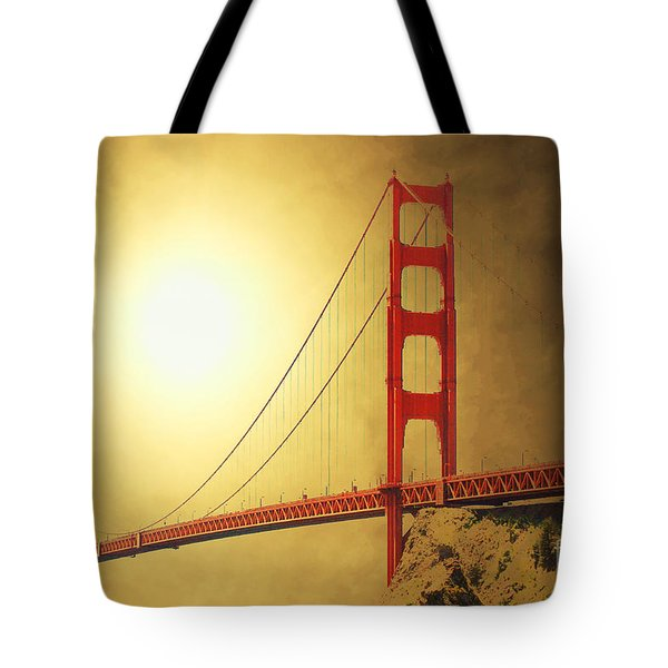 The Golden Gate Tote Bag by Wingsdomain Art and Photography