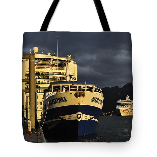 The Golden Hour Tote Bag by Cathy Mahnke