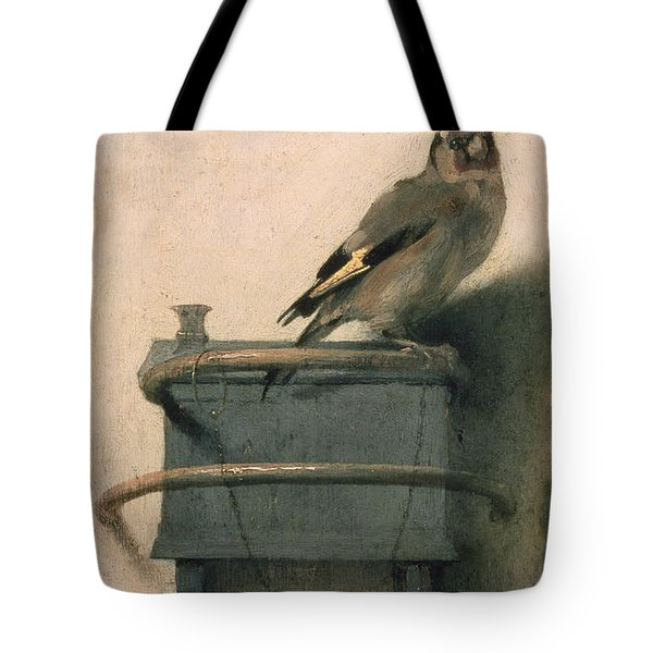 The Goldfinch Tote Bag by Carel Fabritius