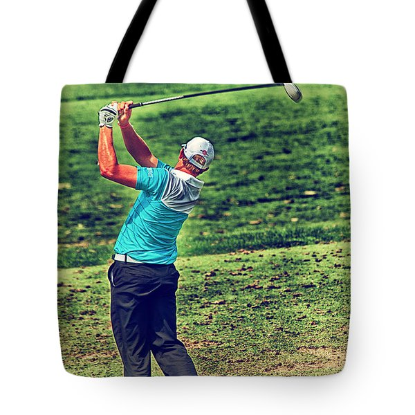 The Golf Swing Tote Bag by Karol Livote