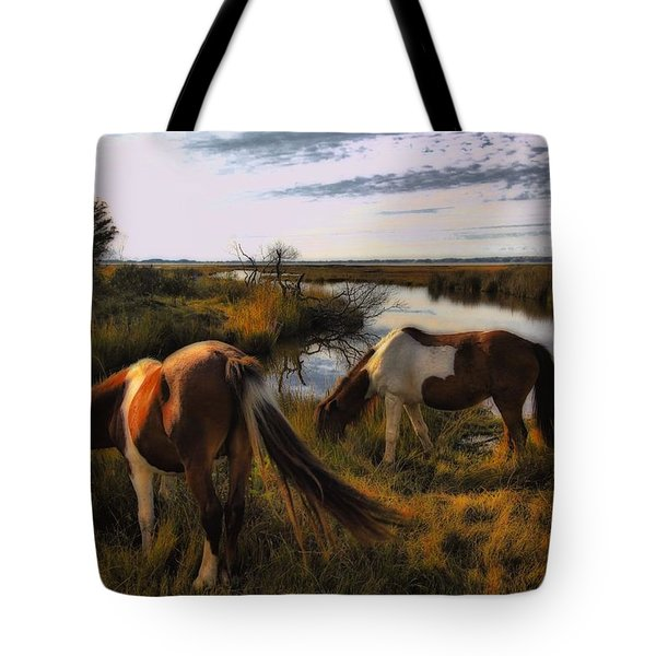 The Good Life Tote Bag by Robert McCubbin