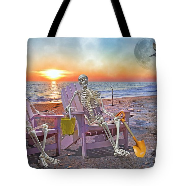 The Good Old Days Tote Bag by Betsy C  Knapp