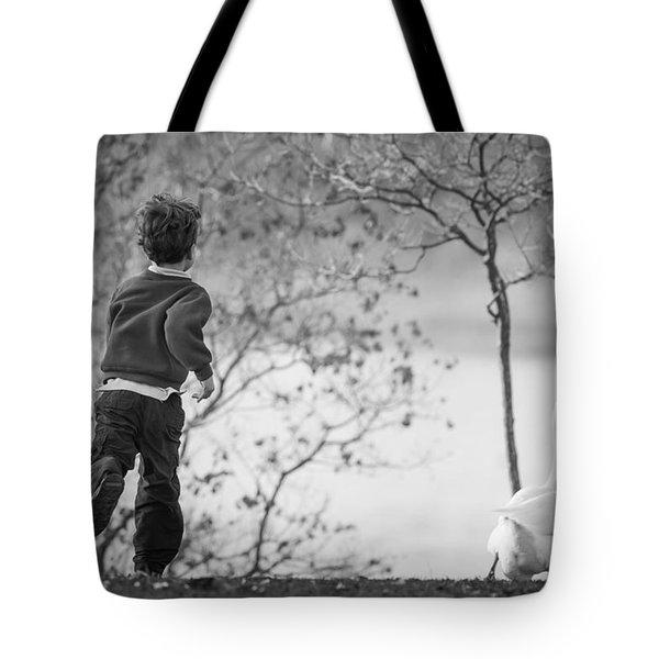 The Goose Chase Tote Bag by Priya Ghose