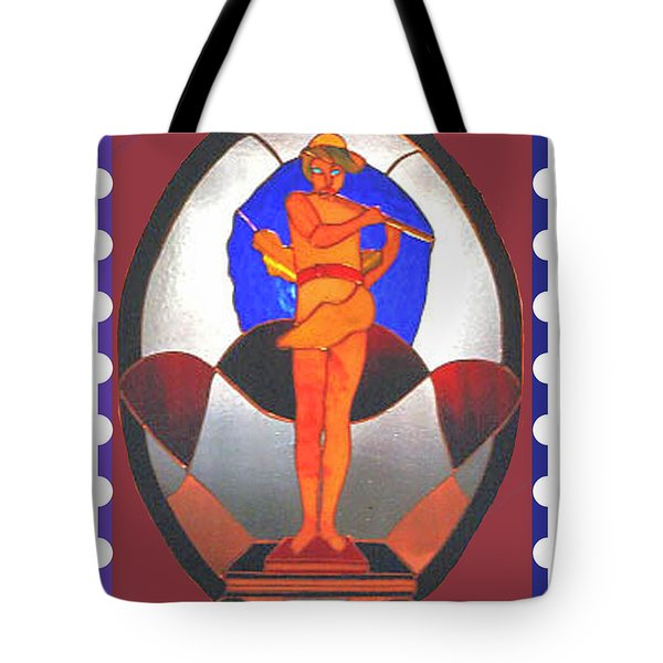 The Great God Pan Plays Tote Bag by Patricia Keller