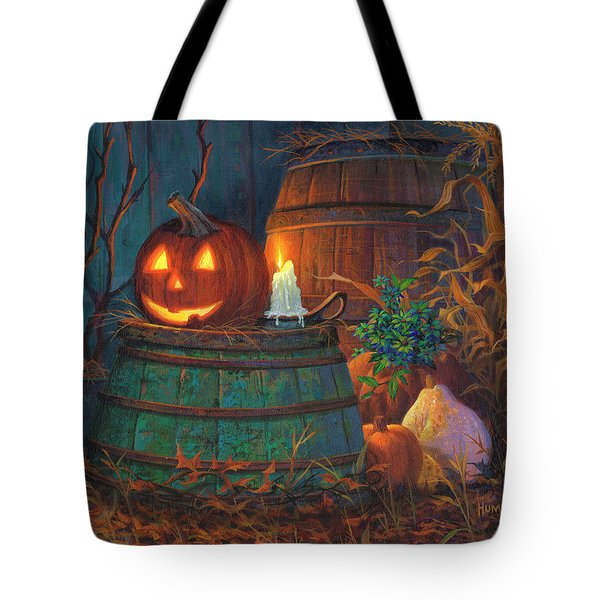 The Great Pumpkin Tote Bag by Michael Humphries