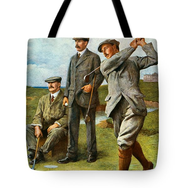 The Great Triumvirate Tote Bag by Clement Flower