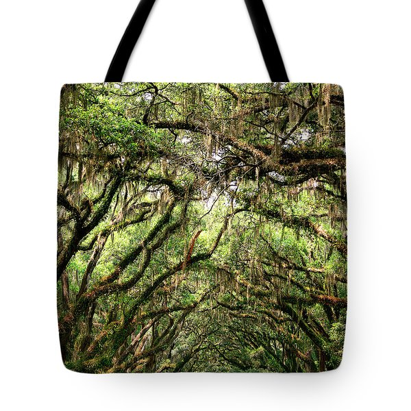 THE GREEN MILE Savannah GA Tote Bag by William Dey