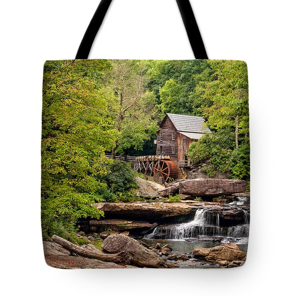 The Grist Mill Tote Bag by Steve Harrington
