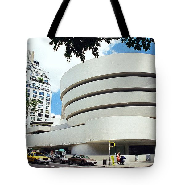 The Guggenheim Tote Bag by Allen Beatty