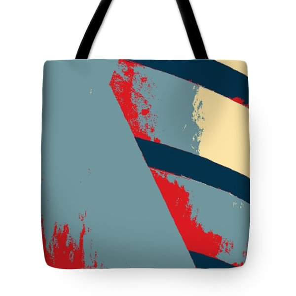 THE GUGGENHEIM in HOPE Tote Bag by ROB HANS