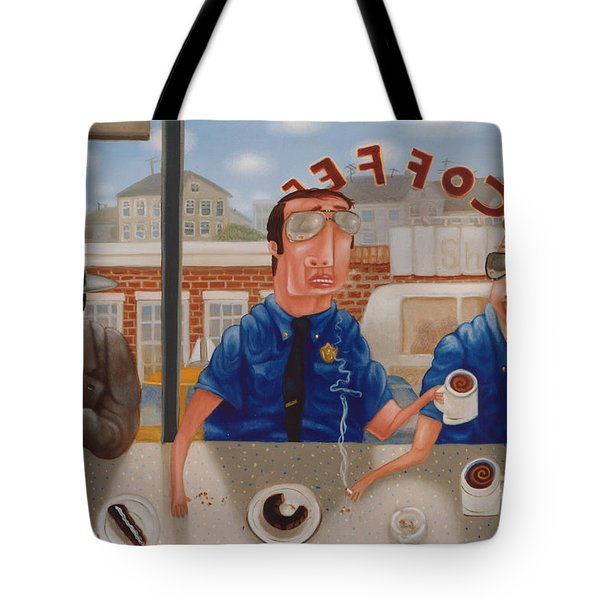 The Guilty Guy 1993 Tote Bag by Larry Preston