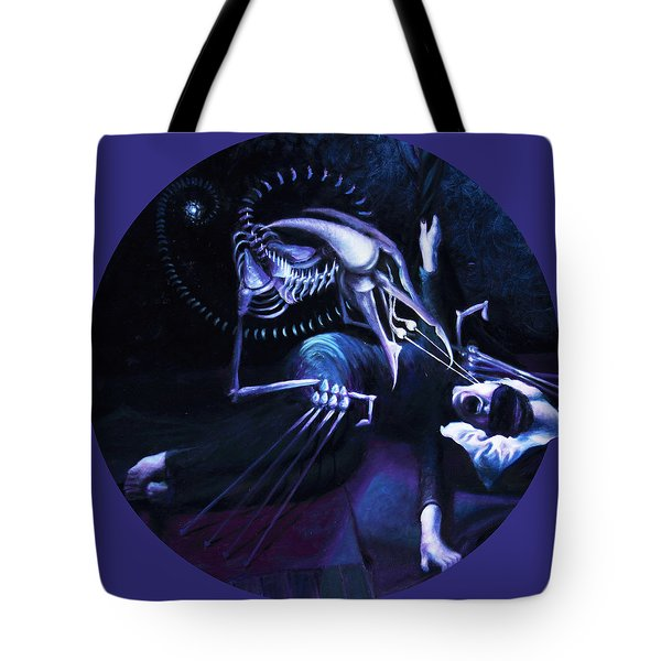 The Hallucinator Tote Bag by Shelley  Irish