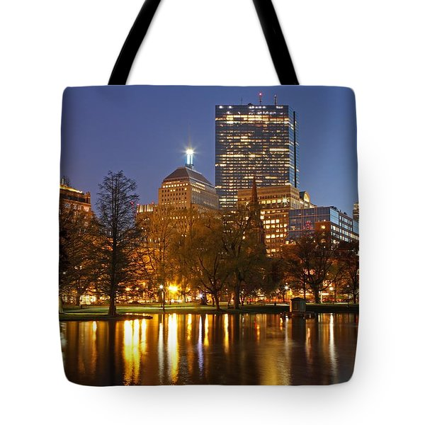 The Hancock and The Pru Tote Bag by Juergen Roth