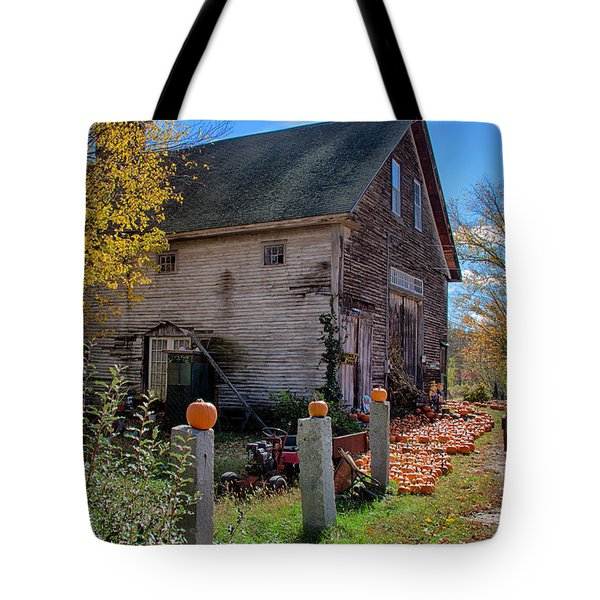 The Harvest Is In Tote Bag by Jeff Folger