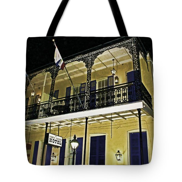 The Haunted Hotel Tote Bag by Judy Vincent