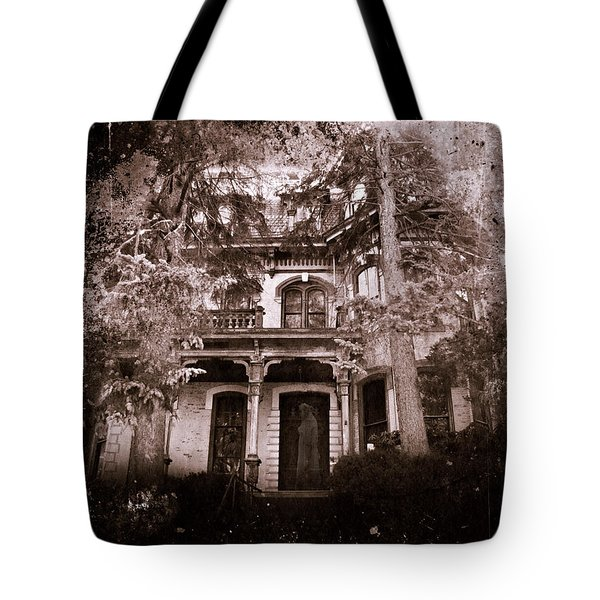 The Haunting Tote Bag by David Dehner