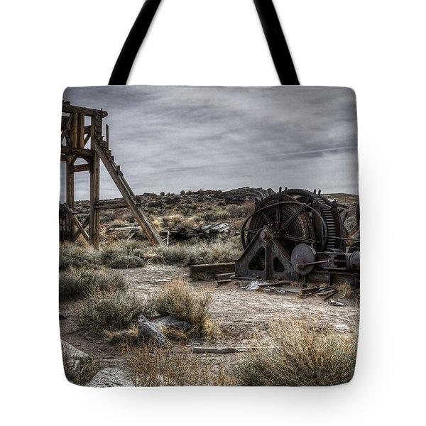 The Headframe Tote Bag by Eduard Moldoveanu
