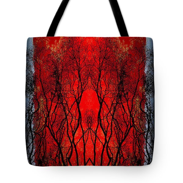 The Heart Of A Tree Tote Bag by Jan Amiss Photography
