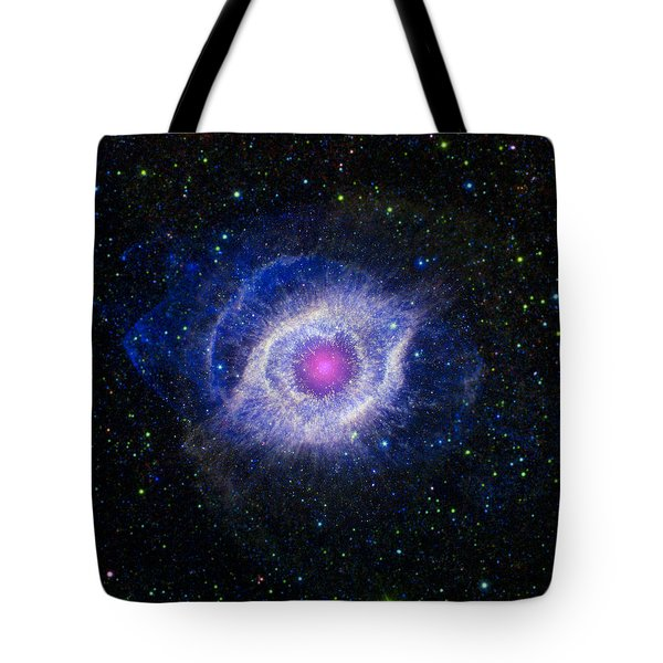 The Helix Nebula Tote Bag by Adam Romanowicz