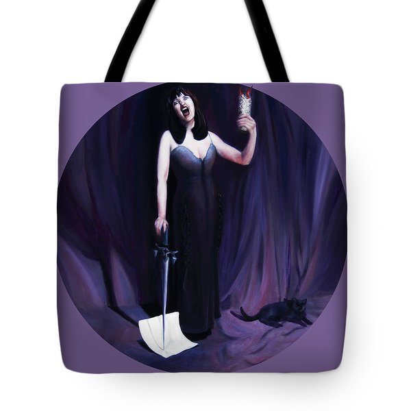 The Heretic Tote Bag by Shelley Irish