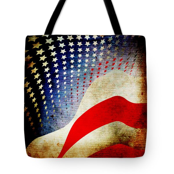The High Flying Flag Tote Bag by Angelina Vick