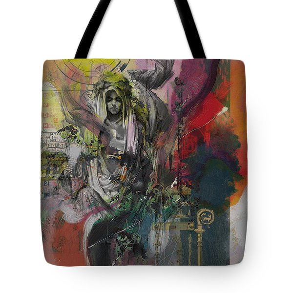 The High Priestess Tote Bag by Corporate Art Task Force