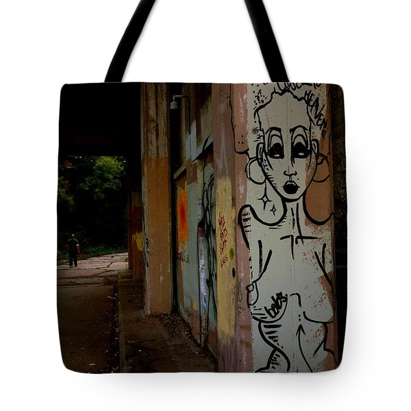 The Higher The Hair The Closer To Heaven - Babs Tote Bag by Jacqueline Athmann