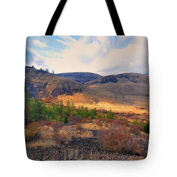 The Hills Tote Bag by Gary Silverstein