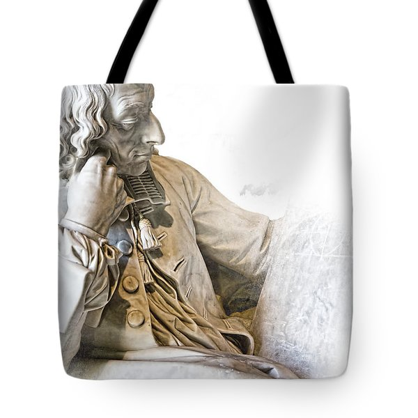 The Historian Tote Bag by Evie Carrier