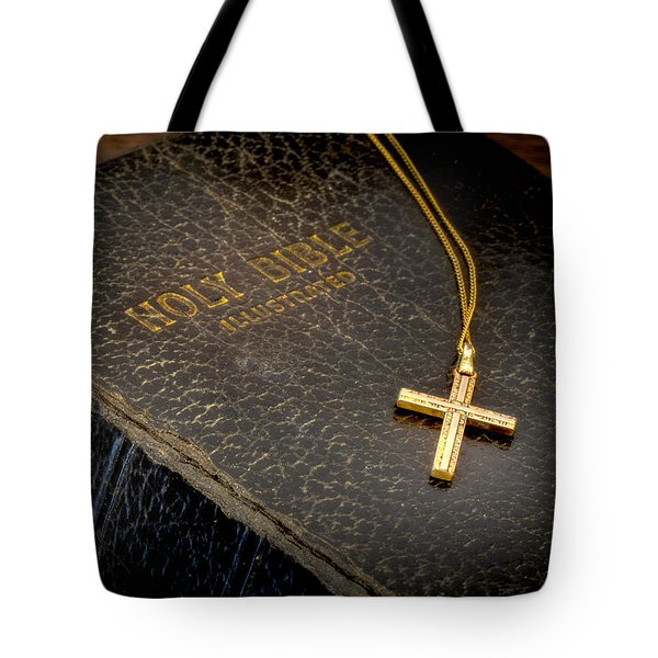 The Holy Bible Tote Bag by David and Carol Kelly