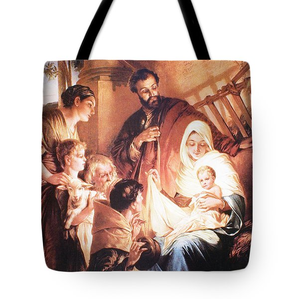 The Holy Family Tote Bag by Unknown