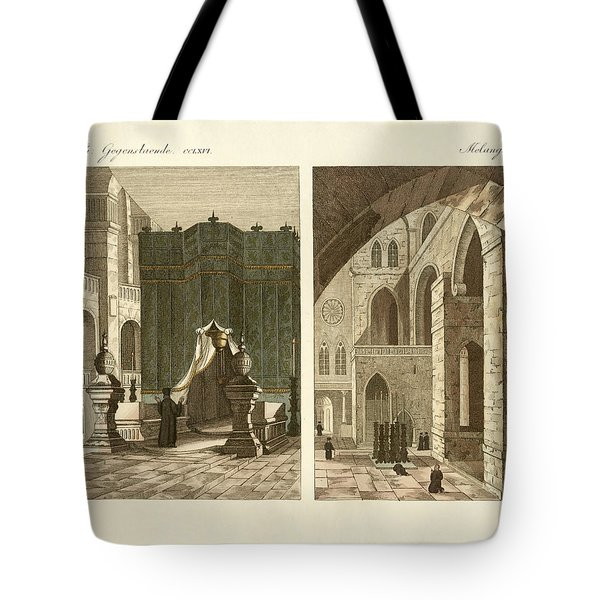The Holy Sepulcher Of Jerusalem Tote Bag by Splendid Art Prints