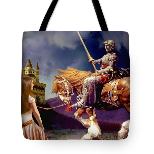 The Homecoming Tote Bag by Ronald Chambers