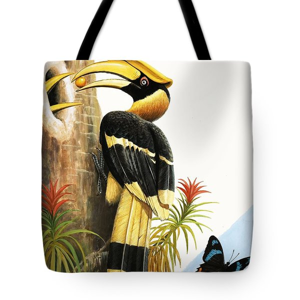 The Hornbill Tote Bag by R.B. Davis